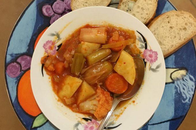 Celeriac Sulu Yemek
