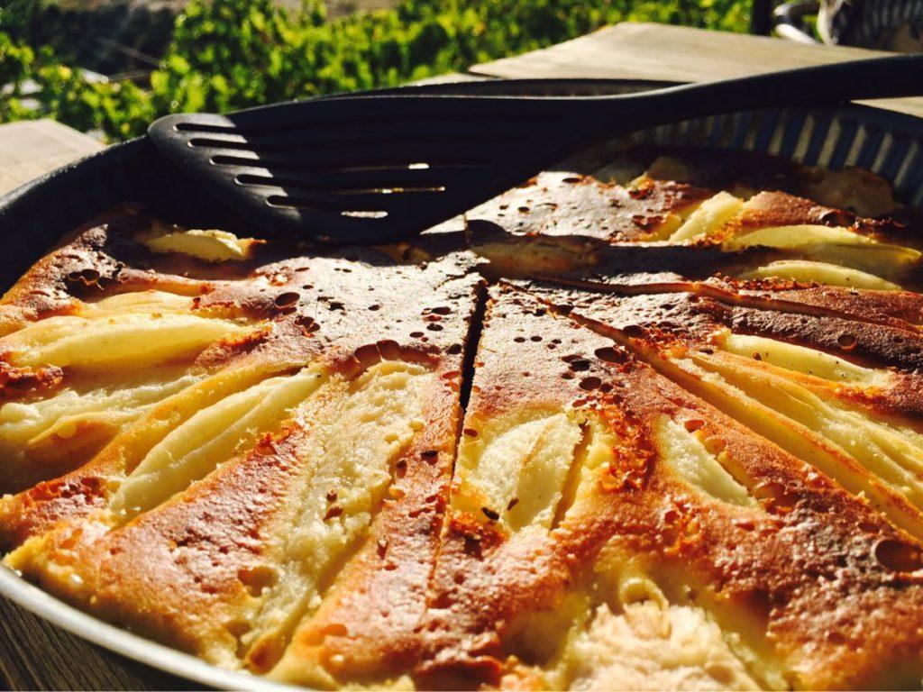 Pear & Cardamom Tart