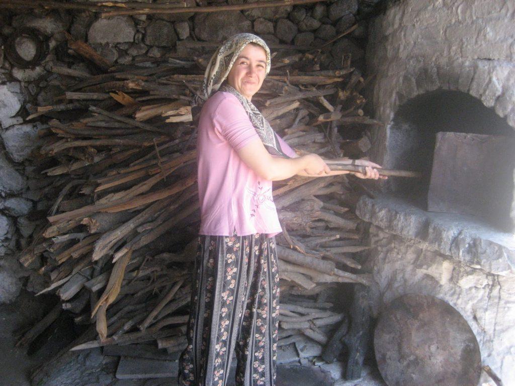 Outdoor oven in turkey
