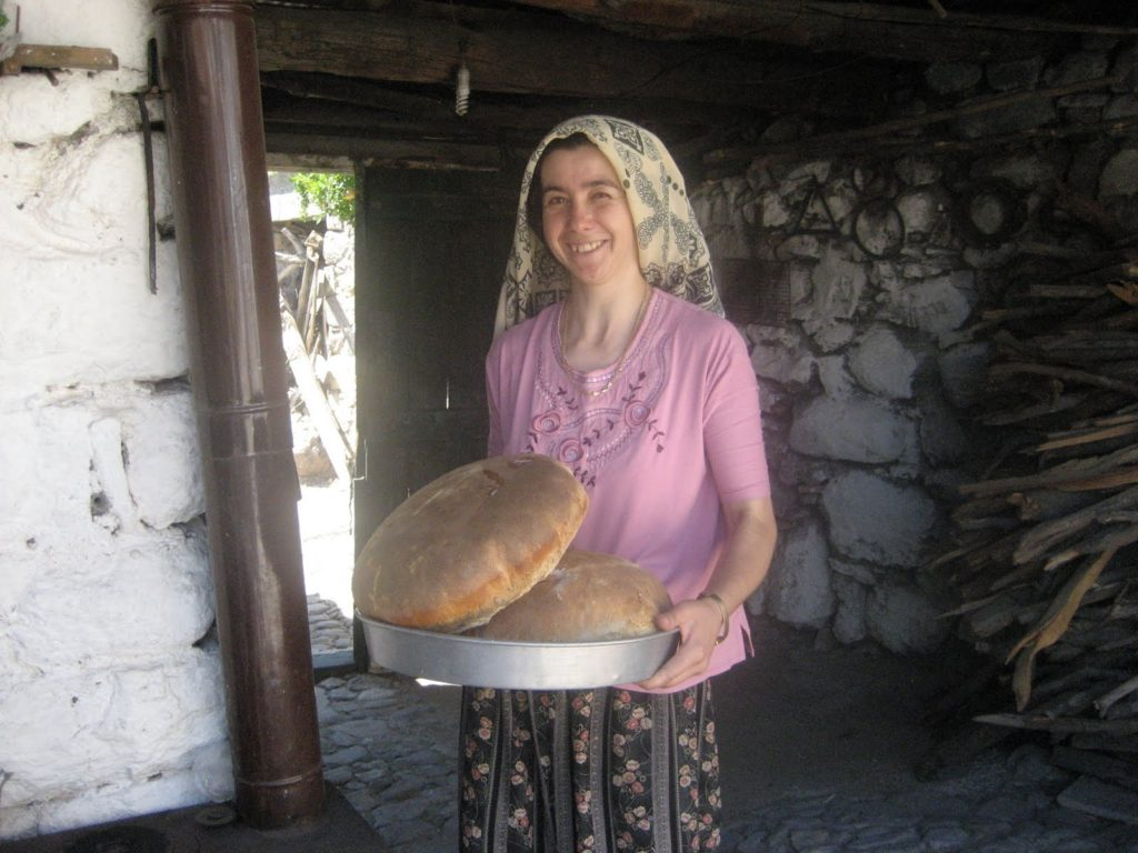 Bread directly from the oven