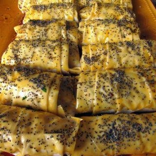 Borek with Poppy Seeds/Haşhaşlı Börek