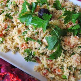 Bulgur and Walnut Salad/Cevizli Bulgur Salatası