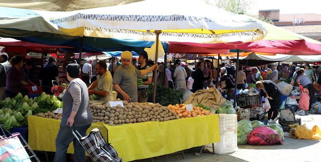 Selçuk market last Saturday