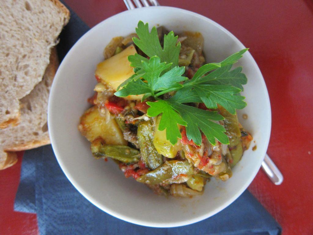 vegetables casserole