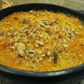 Künefe: the syrup-soaked, cheese-filled 'shredded wheat' dessert