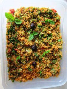 Spicy Bulgur Salad
