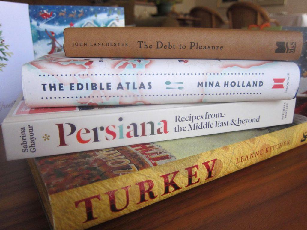 Christmas cookbooks