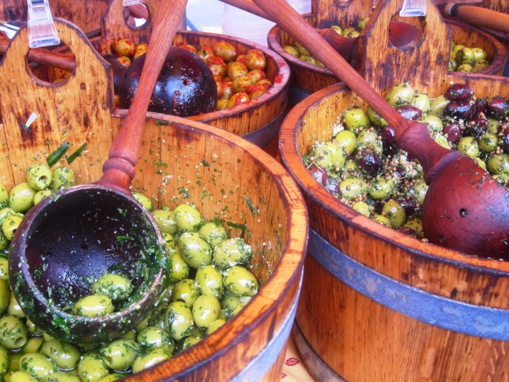 Olives at Broadway market