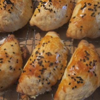White Cheese & Dill Savoury Treats! Peynirli Poğaca