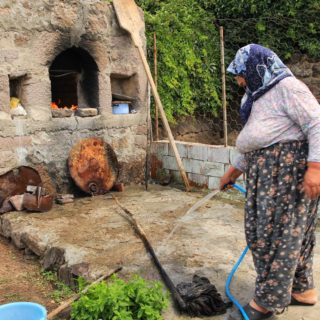 Bread-making in a Turkish Village for a Circumcision Celebration!