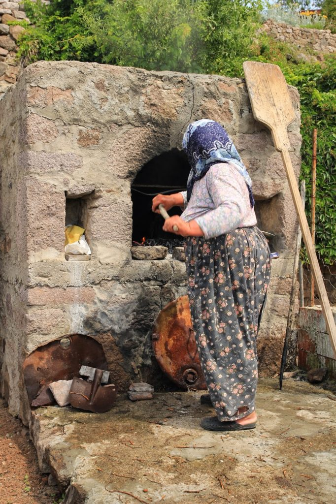 Bread-making in a Turkish Village for a Circumcision ...