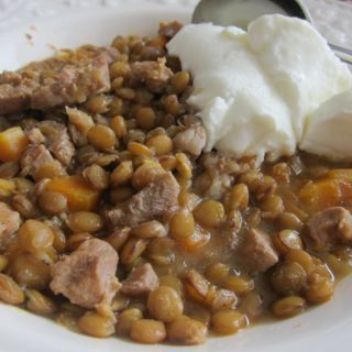 Green Lentils and Lamb – Etli Mercimek