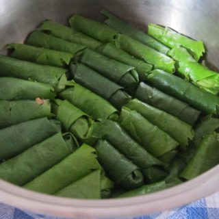 Vine Leaves Stuffed with Rice and Meat –  Etli Yaprak Sarma