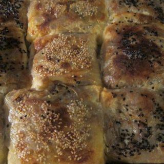 Patlıcanlı Böreği – Aubergine/Eggplant Borek