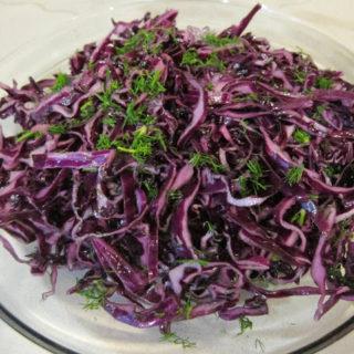 Red Cabbage Salad – Kırmızı Lahana Salatası