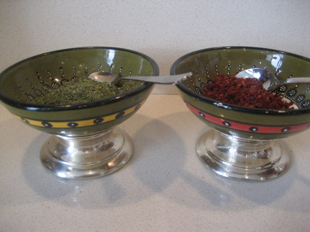 Turkish condiments