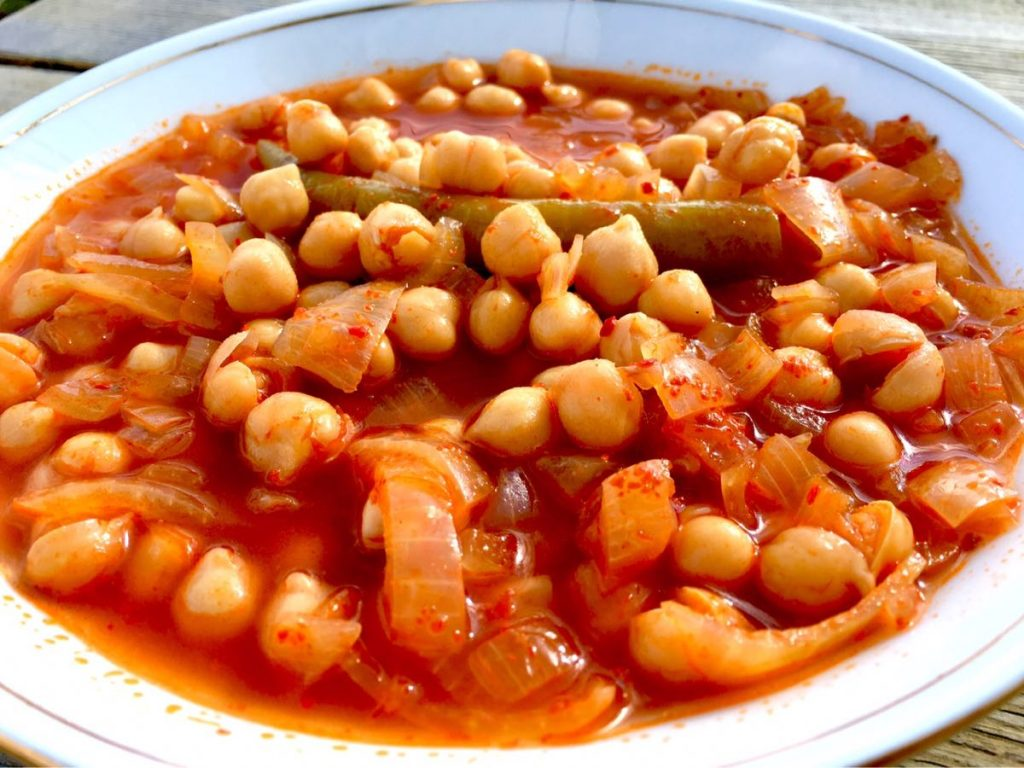 Chickpeas the Turkish Way