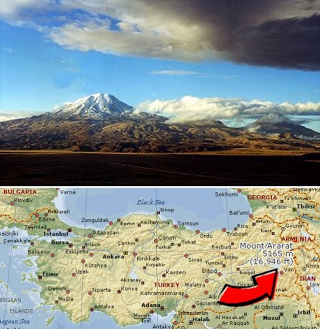 Mt Ararat and the Ark