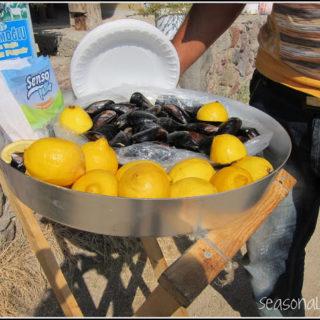 Turkish Beach Food