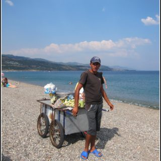 Turkish Beach Food: Assos '15