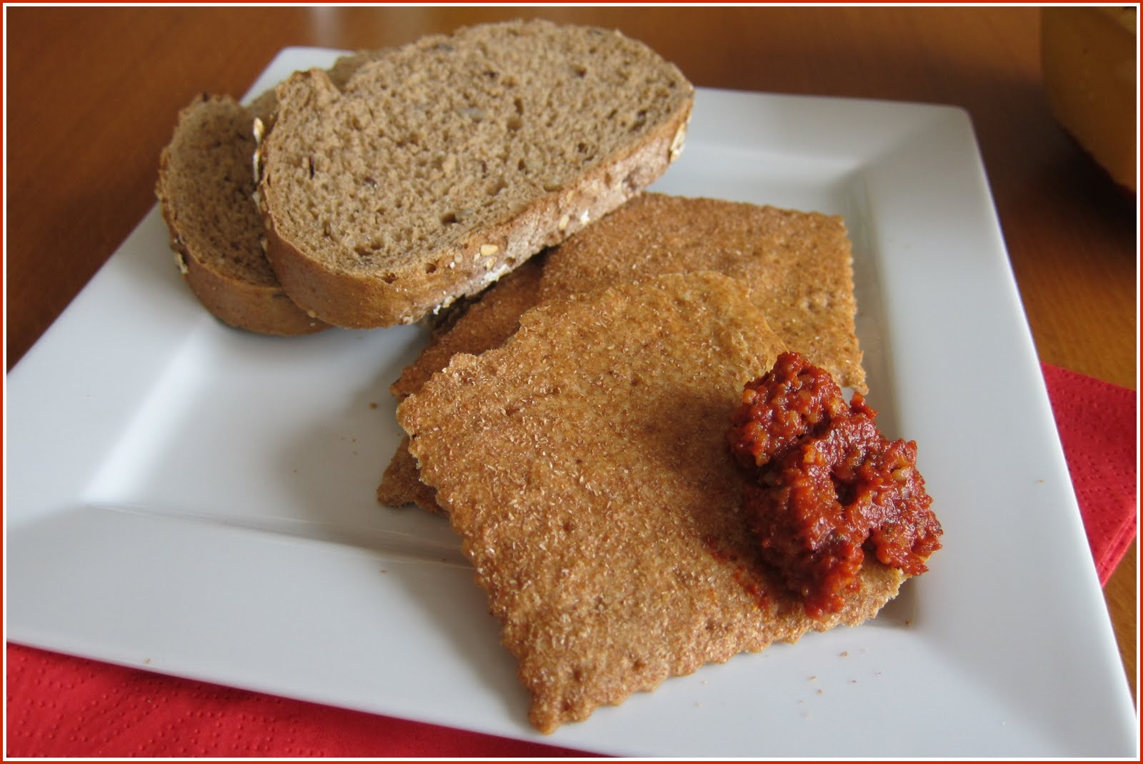 Acuka Serve With Bread Crackers Or Indeed As A Dip