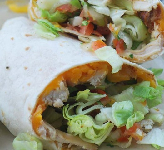 chicken tandir wrap