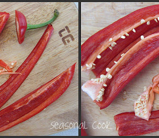 Roasted Red Peppers in Olive Oil, Balsamic and Garlic
