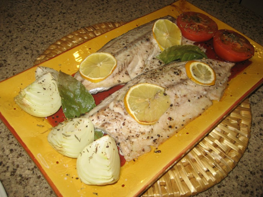 cooked palamut