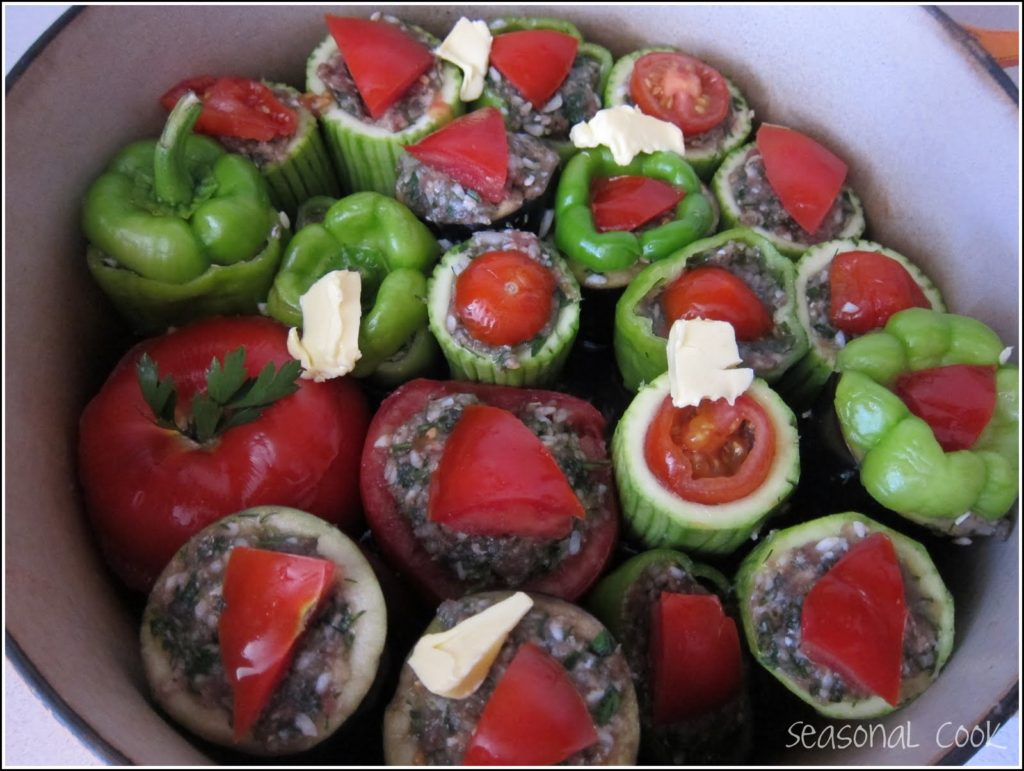 Dolma Summer Vegetables Stuffed With Meat And Herbs