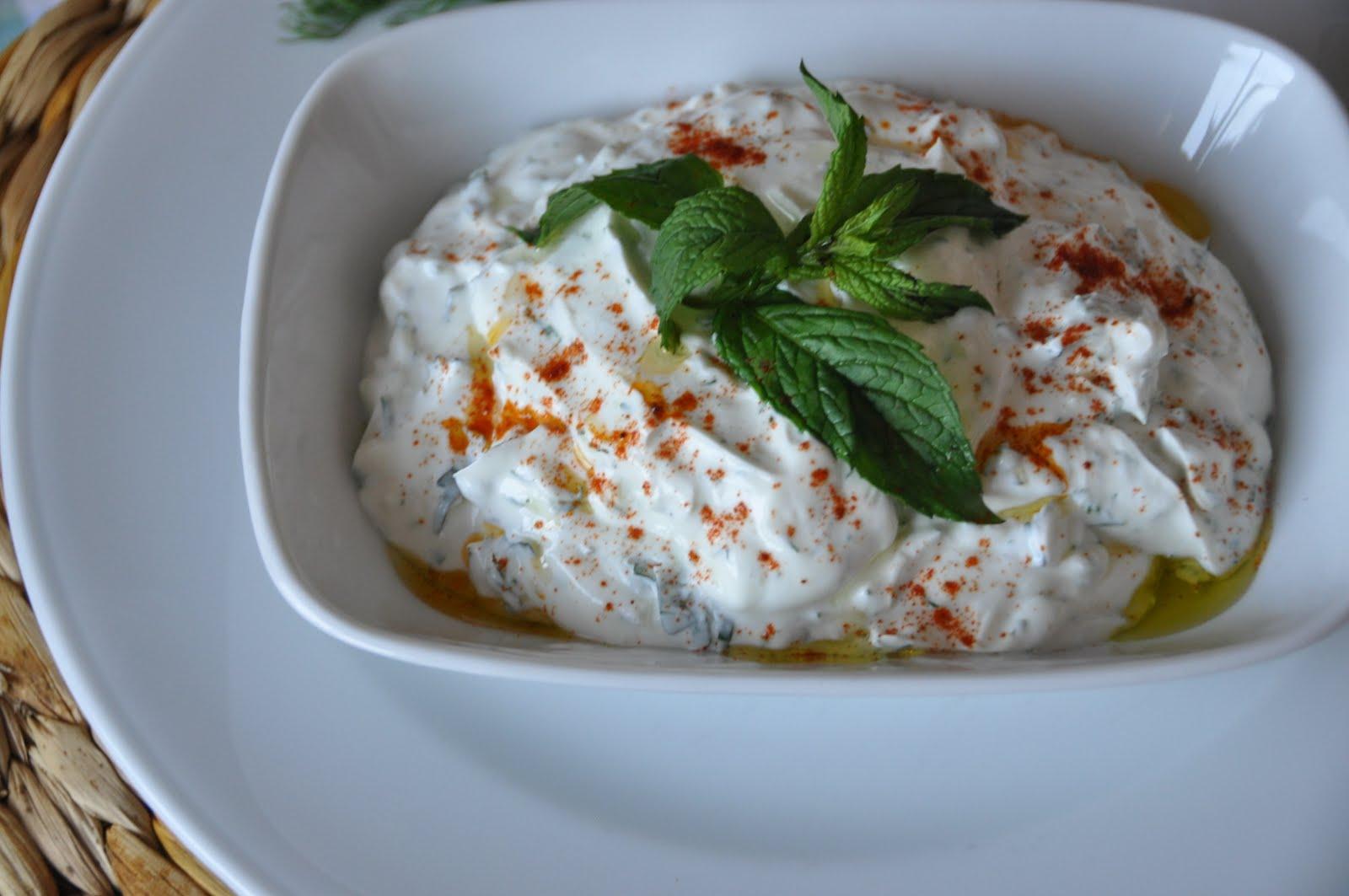 turkisk meze yoghurt