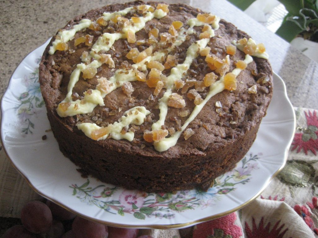 Lemon Ginger cake