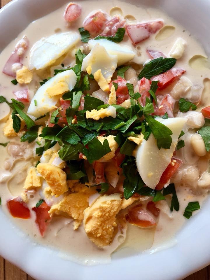 Piyaz side dish