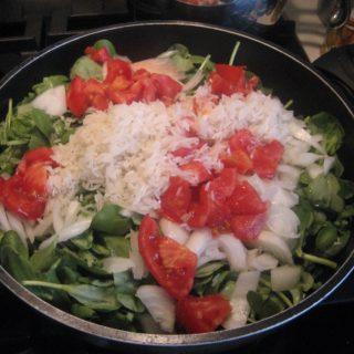 Purslane:  A Vegetarian Dish