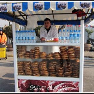 Mahlepli Simit – Sesame-coated Simits  Baked With Fragrant Mahlep