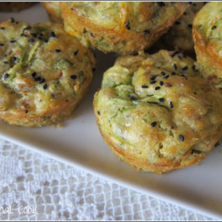 Walnut and Courgette Muffins with Fresh Herbs