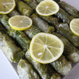 Lettuce Leaves Stuffed with Sea Bass – Levrek Sarma