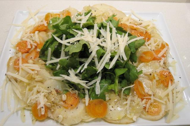 celeriac carpaccio