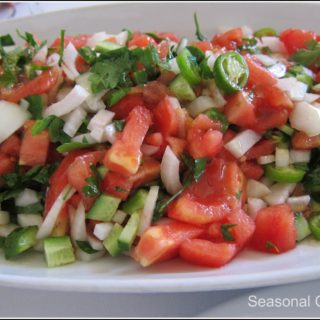 Çoban Salatası – Turkish Shepherd's Salad